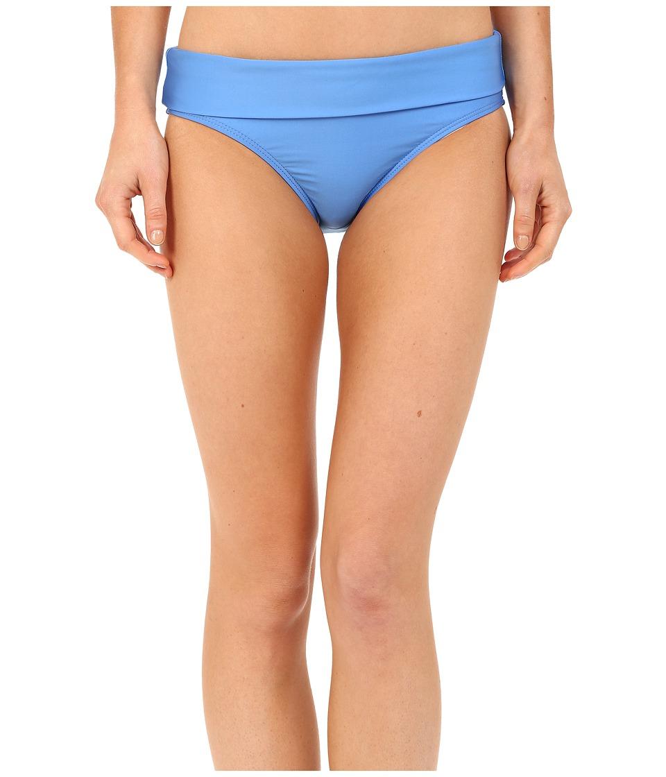 Splendid - Hamptons Solid Banded Pants (Blue) Women's Swimwear