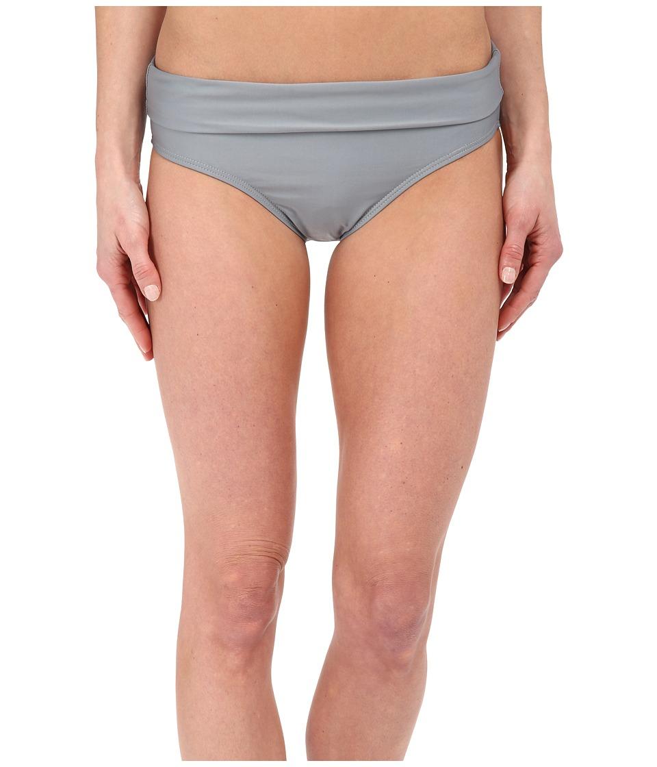 Splendid - Hamptons Solid Banded Pants (Grey) Women's Swimwear