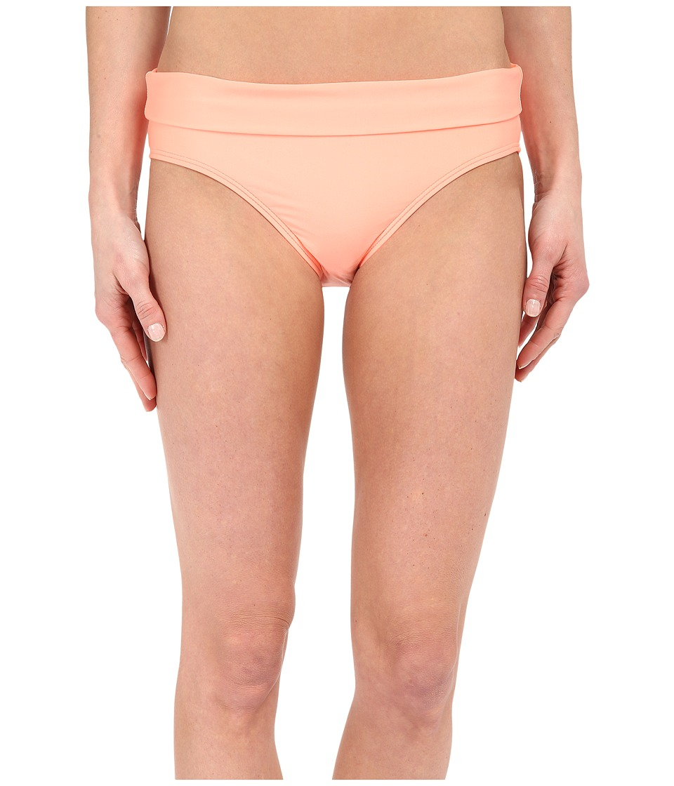 Splendid - Hamptons Solid Banded Pants (Tangerine) Women's Swimwear