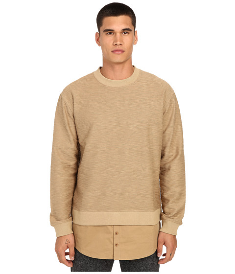 DBYD - Wanderer Layered Pullover (Camel) Men