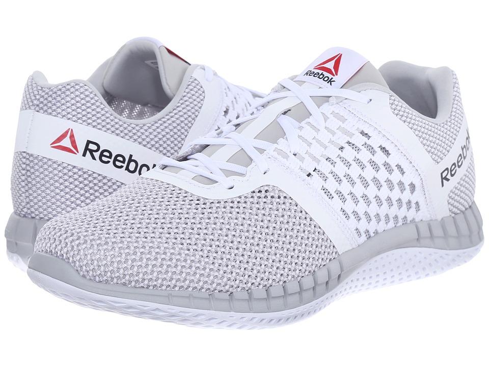 Reebok - ZPrint Run (White/Steel) Men