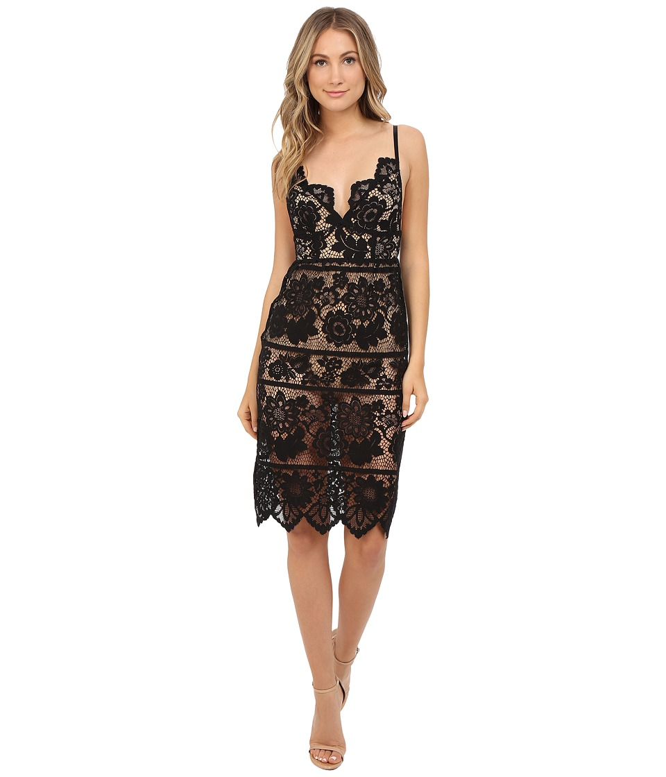 For Love and Lemons - Gianna Dress (Black) Women's Dress
