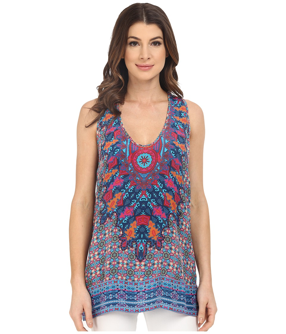 Tolani - Vikki Tank Top (Azure) Women's Sleeveless