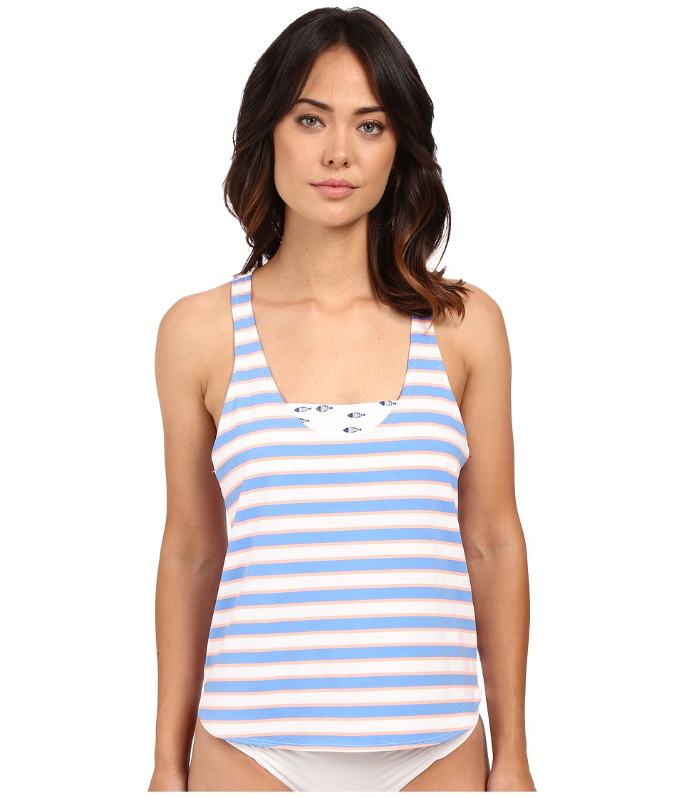 Splendid - Cayman Stripe Double Dip (Multi) Women's Swimwear
