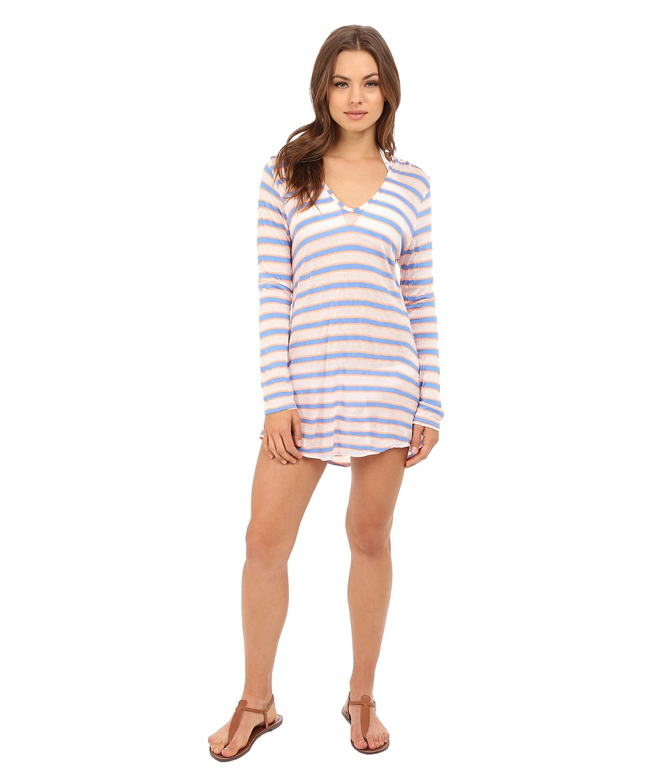 Splendid - Cayman Stripe Tunic Cover-Up (Multi) Women's Swimwear