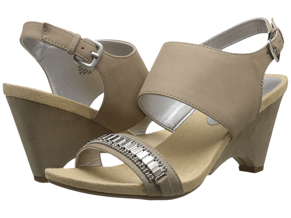 Anne Klein - Rio (Taupe Nubuck) Women's Shoes