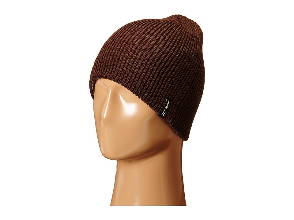 Hurley - Shipshape 2.0 Knit Hat (Velvet Brown) Beanies