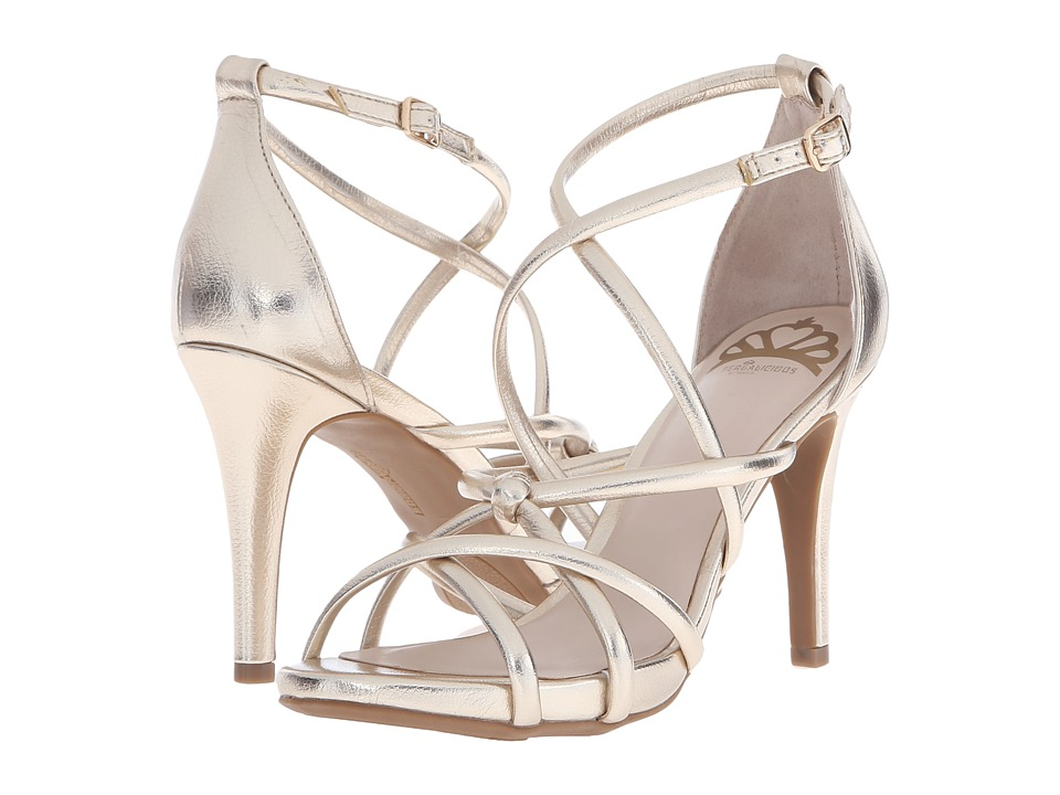 Fergalicious - Hannah (Gold) Women's Shoes