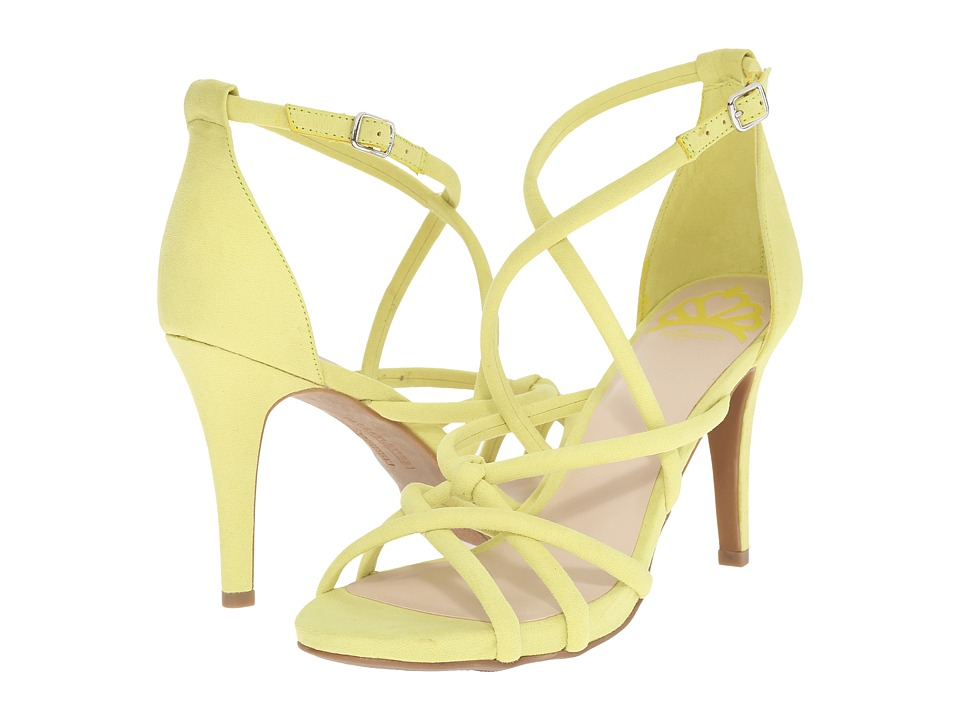 Fergalicious - Hannah (Citron) Women's Shoes
