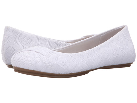 Fergalicious - Gabby (White) Women's Shoes