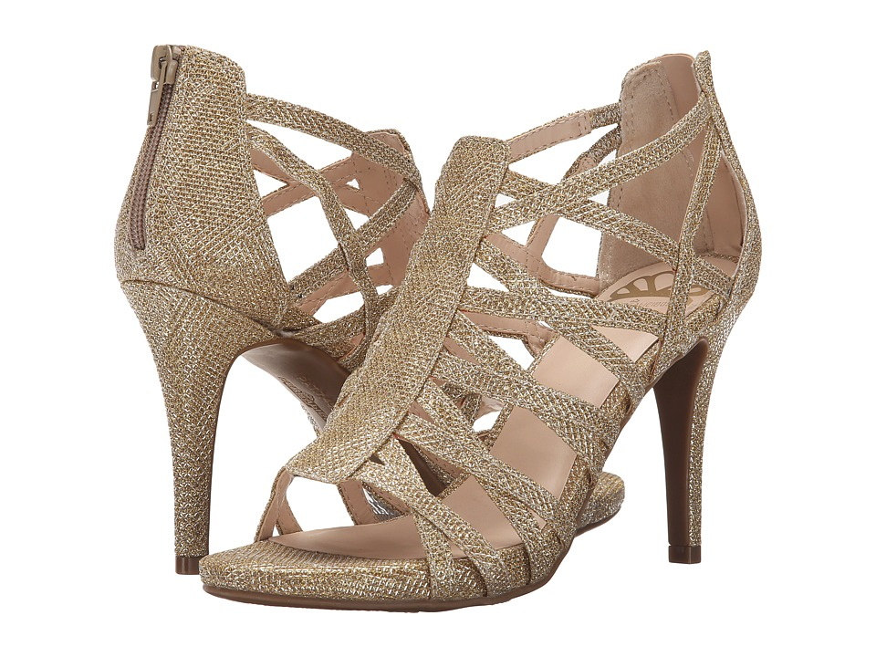 Fergalicious - Hattie (Gold) Women's Shoes