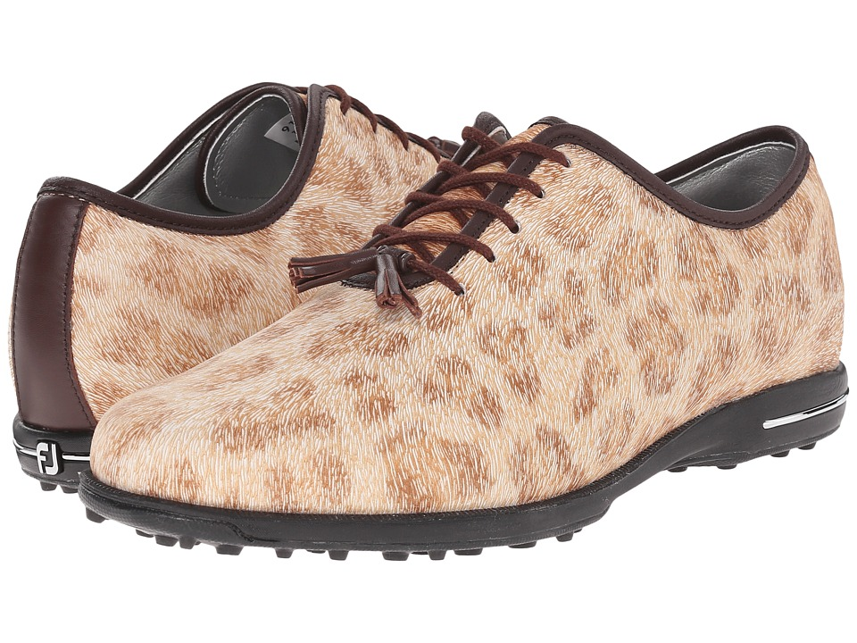 FootJoy Tailored Collection (Cheetah/Dark Brown) Women