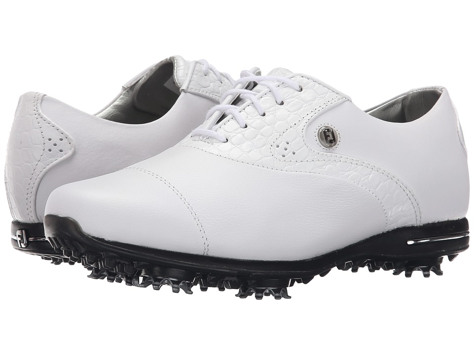 FootJoy - Tailored Collection (White/White) Women's Golf Shoes