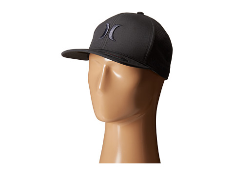 Hurley - Phantom Vapor 2.0 Fitted Hat (Anthracite) Caps