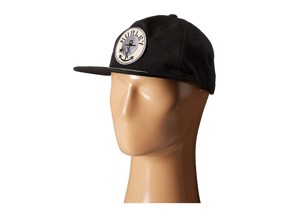 Hurley - Savage Seas Hat (Black) Caps