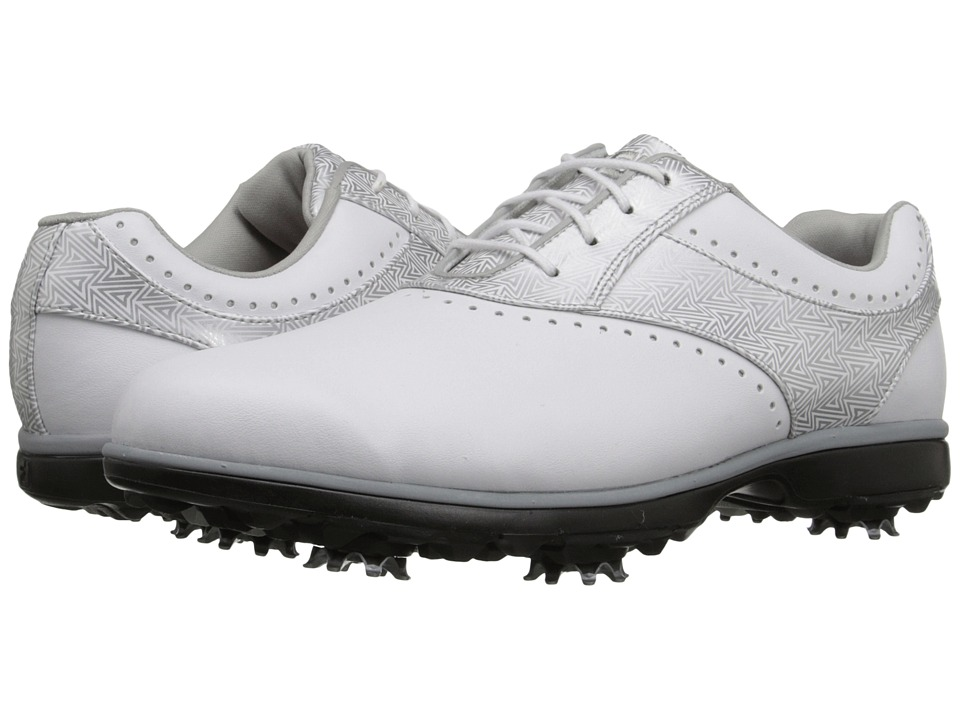FootJoy - eMerge (White/Silver Flake) Women's Golf Shoes