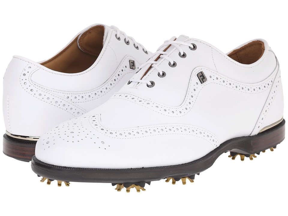 FootJoy - Icon Black (White) Men's Golf Shoes