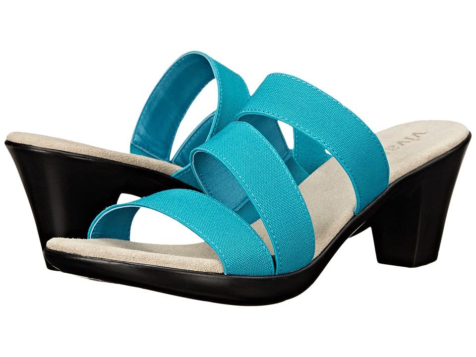Vivanz - Leia (Turquoise) Women's Sandals