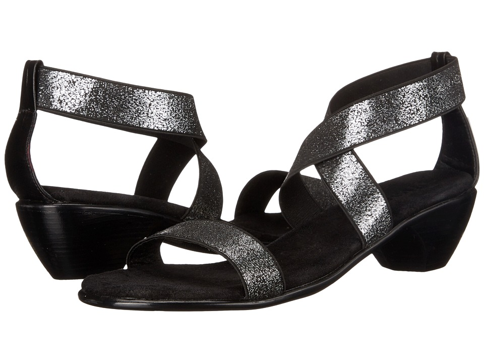 Vivanz - Miranda (Black Brush) Women's Dress Sandals
