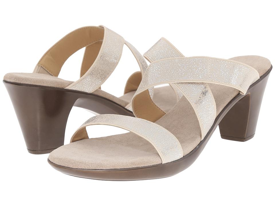 Vivanz - Olivia (Silver Brush) High Heels