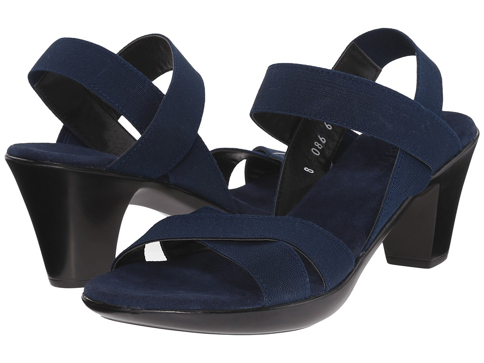 Vivanz - Lily (Navy) Women's Sling Back Shoes