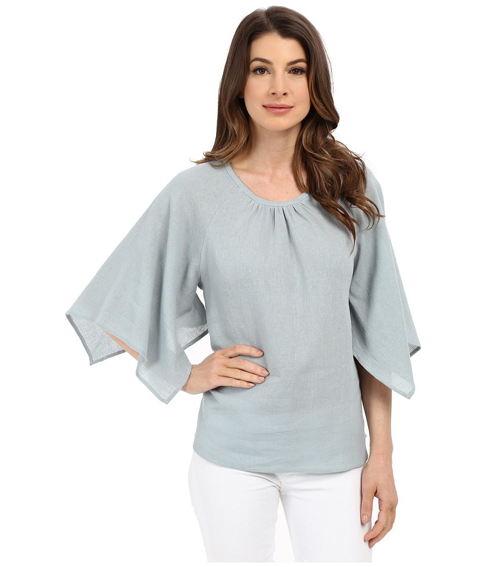 B Collection by Bobeau - Corinna Wide Sleeve Blouse (Dusty Green 2) Women's Blouse