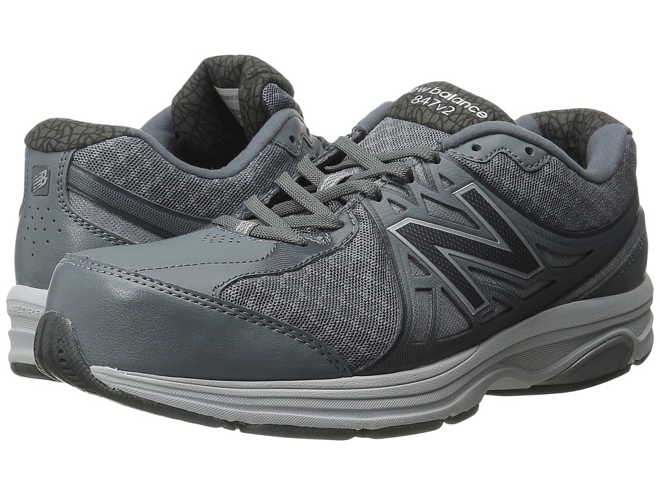 New Balance - MW847v2 (Grey/White) Men's Shoes