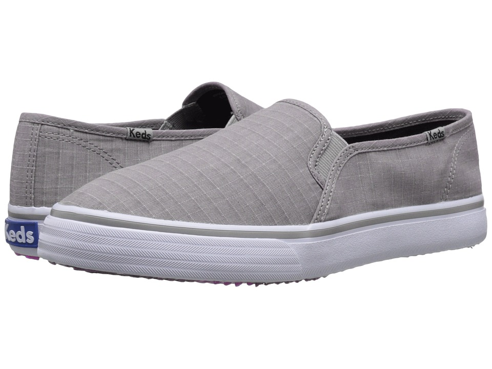 Keds - Double Decker Ripstop (Grey) Women's Shoes