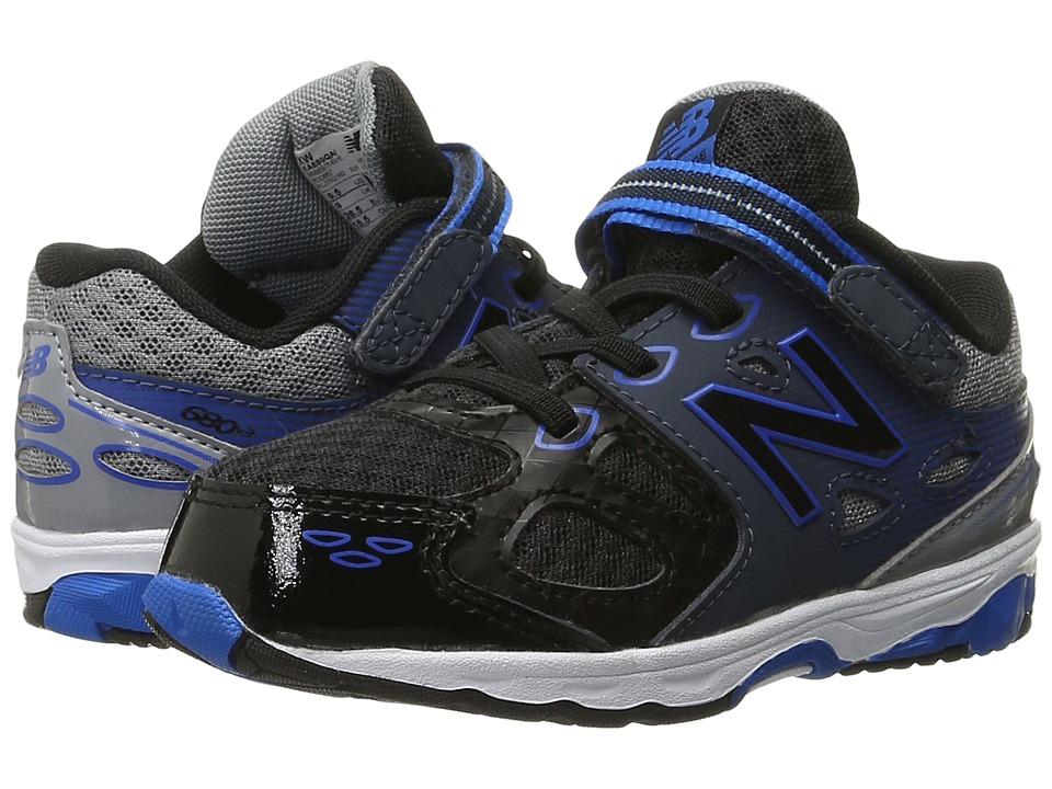 New Balance Kids - KA680v3 (Infant/Toddler) (Steel/Steel) Boys Shoes