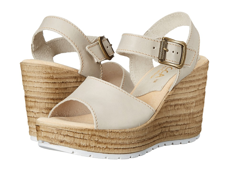 Sbicca - Alcina (Stone) Women's Wedge Shoes