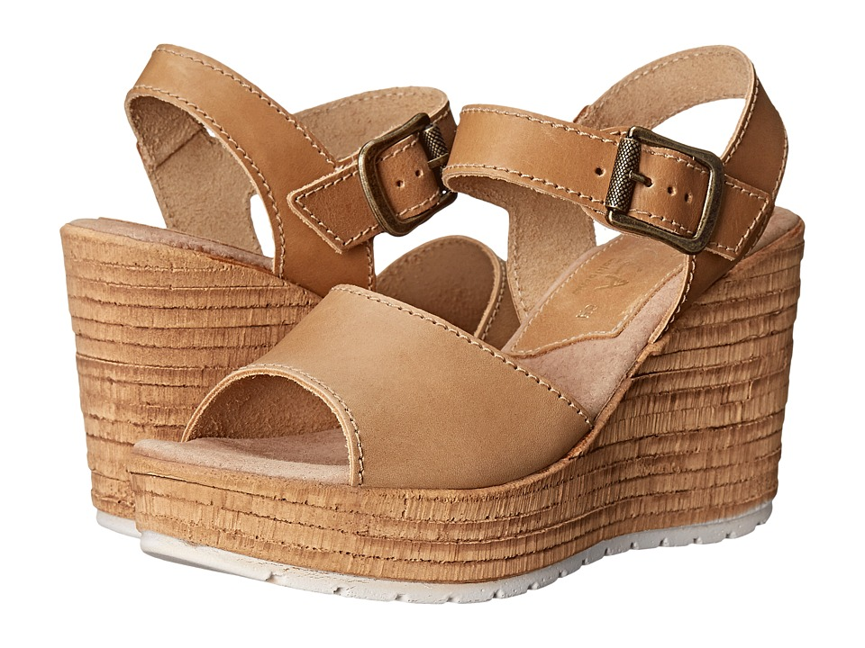 Sbicca - Alcina (Natural) Women's Wedge Shoes