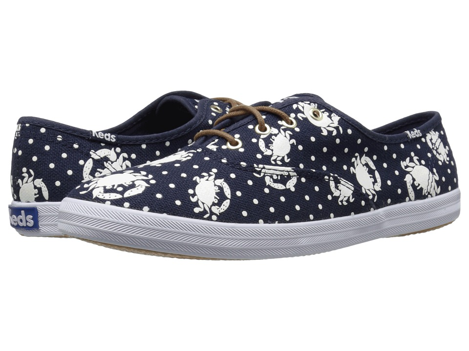 Keds Champion Crab Dot (Navy) Women