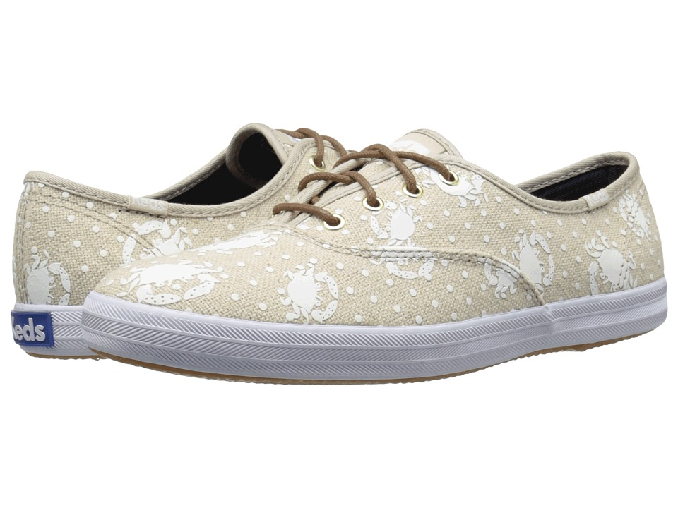 Keds Champion Crab Dot (Natural) Women