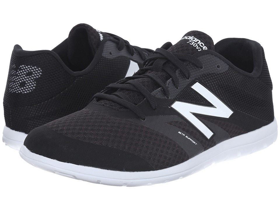 New Balance - MX730v2 (Black/White) Men's Shoes
