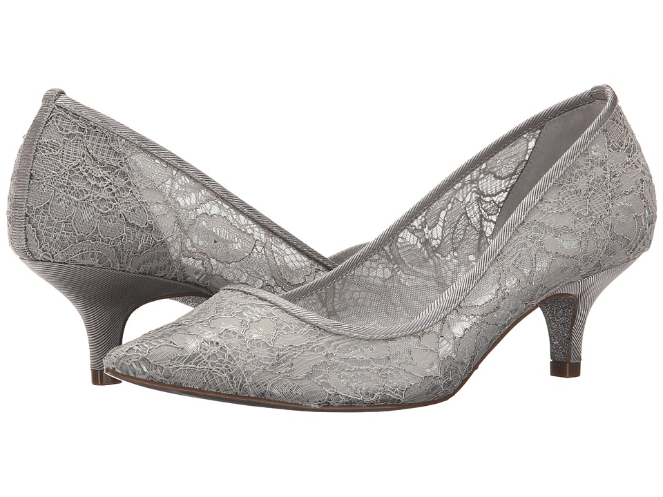 Adrianna Papell Lois Lace (Silver 1890 Lace) Women