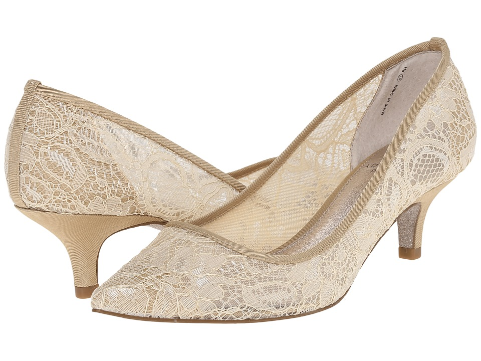 Adrianna Papell - Lois Lace (Latte 1890 Lace) Women's 1-2 inch heel Shoes