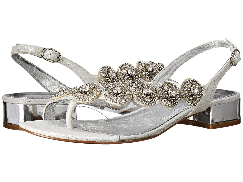 Adrianna Papell Daisy (Silver Mosaic Lame) Women