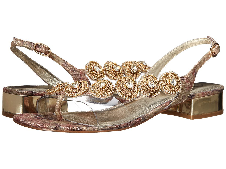 Adrianna Papell - Daisy (Gold Victoria Lame) Women's Dress Sandals
