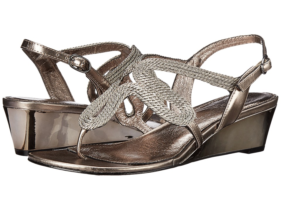 Adrianna Papell - Carli (Gunmetal) Women's Wedge Shoes