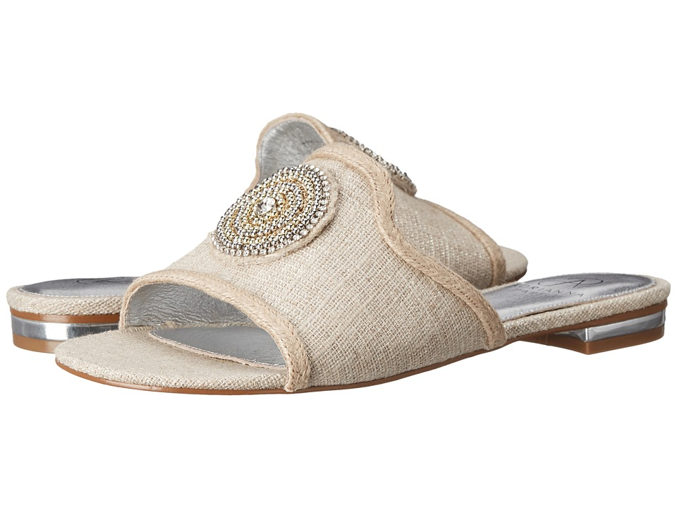 Adrianna Papell - London (Natural Linen) Women's Sandals