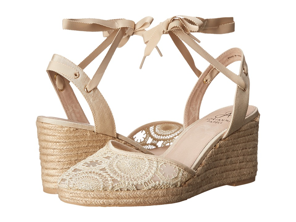 Adrianna Papell - Penny (Natural Barcelona Lace) Women's Wedge Shoes