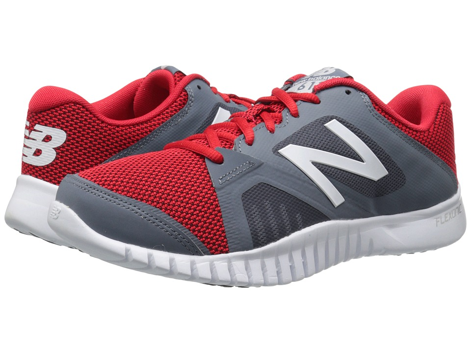 New Balance - MX613v1 (Grey/Red) Men's Shoes