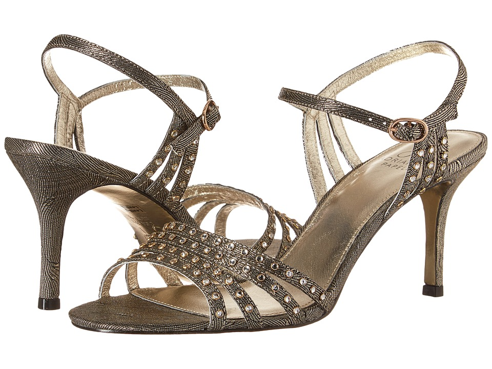 Adrianna Papell - Vonia (Antique Gold Wave Metallic) High Heels