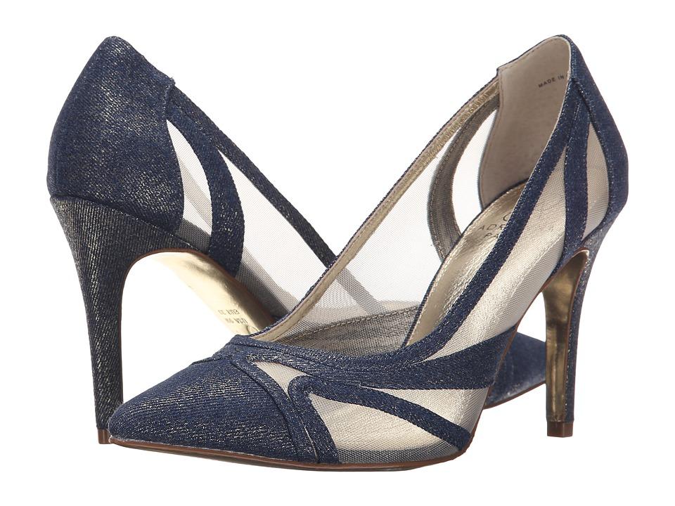 Adrianna Papell - Amal (Platino Wash Zinc Denim) High Heels