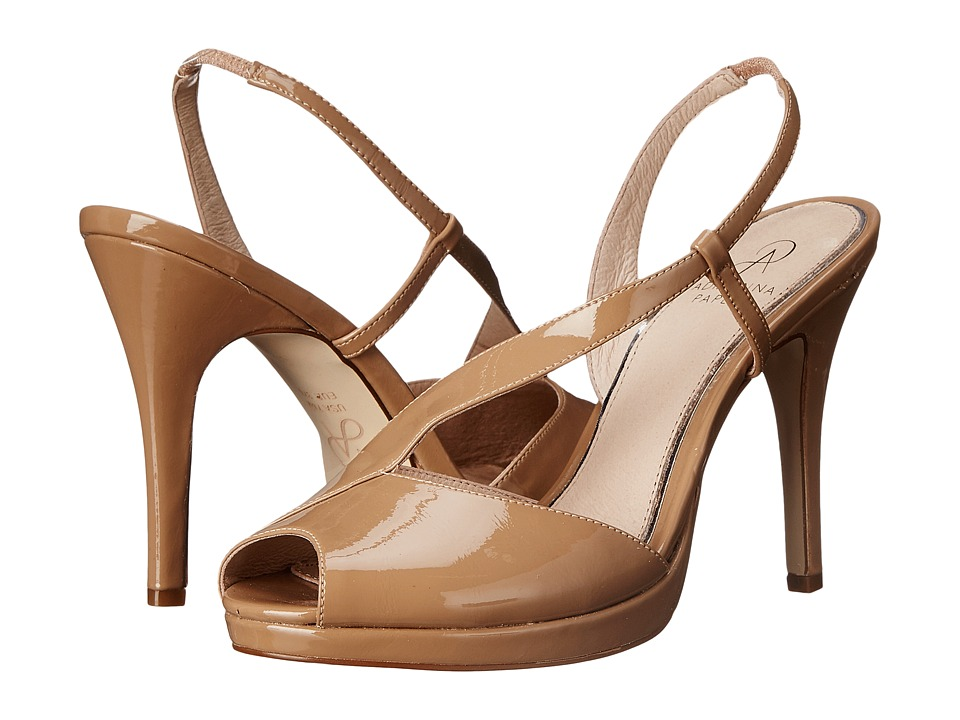 Adrianna Papell - Gemini (Nude Patent Leather) High Heels
