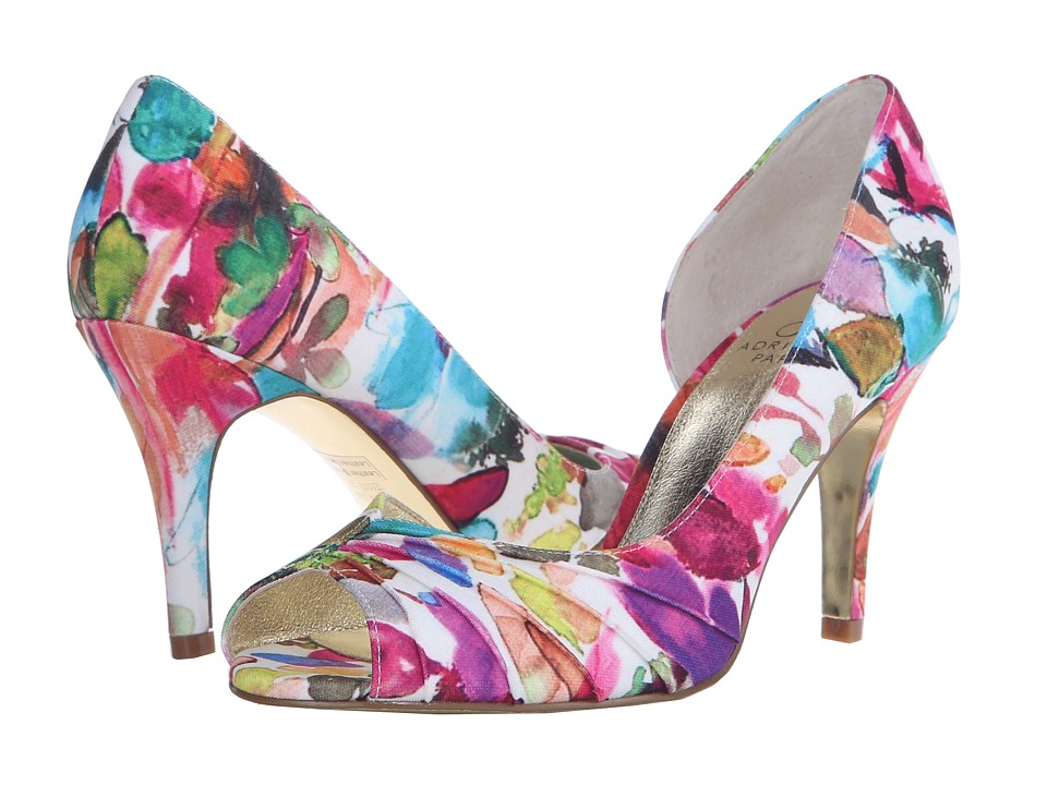 Adrianna Papell - Flynn (Fuchsia Kensington Print) High Heels
