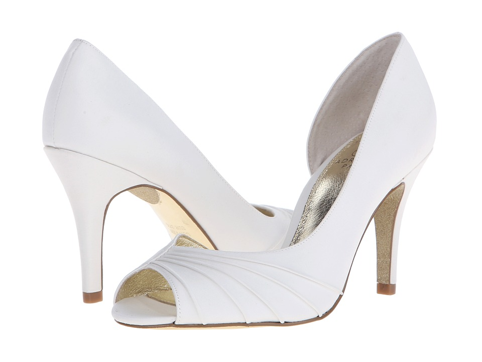 Adrianna Papell - Flynn (Ivory Classic Satin) High Heels