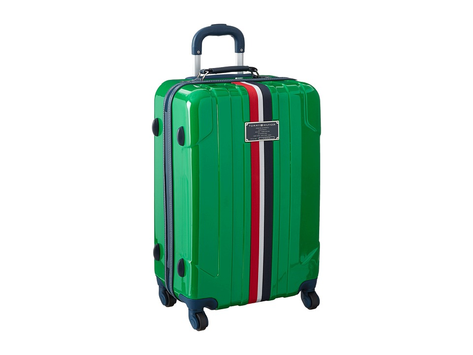 Tommy Hilfiger - Lochwood Upright 24 Suitcase (Green) Luggage
