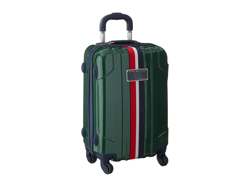 Tommy Hilfiger - Lochwood Upright 21 Suitcase (Olive) Carry on Luggage