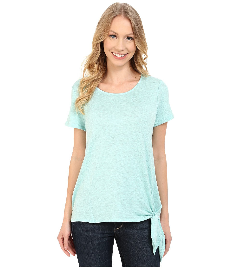 KUT from the Kloth - Madge Short Sleeve Top (Seafoam) Women's Short Sleeve Pullover